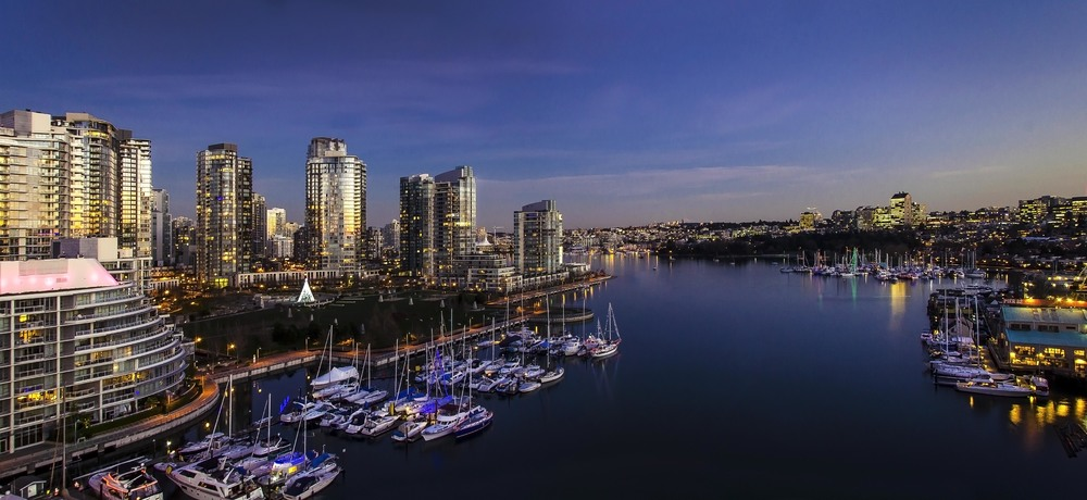 False Creek Skyline, Vancouver, Photo by Brett Hitchins