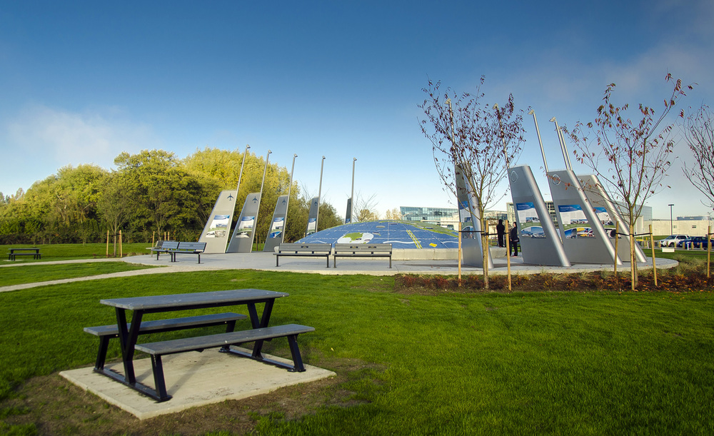 Larry Berg Park Flight Path Park, Vancouver International Airport, Photo by Brett Hitchins