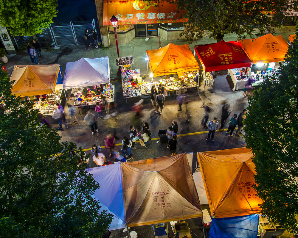 Chinatown Night Market, Vancouver, Photo by Brett Hitchins