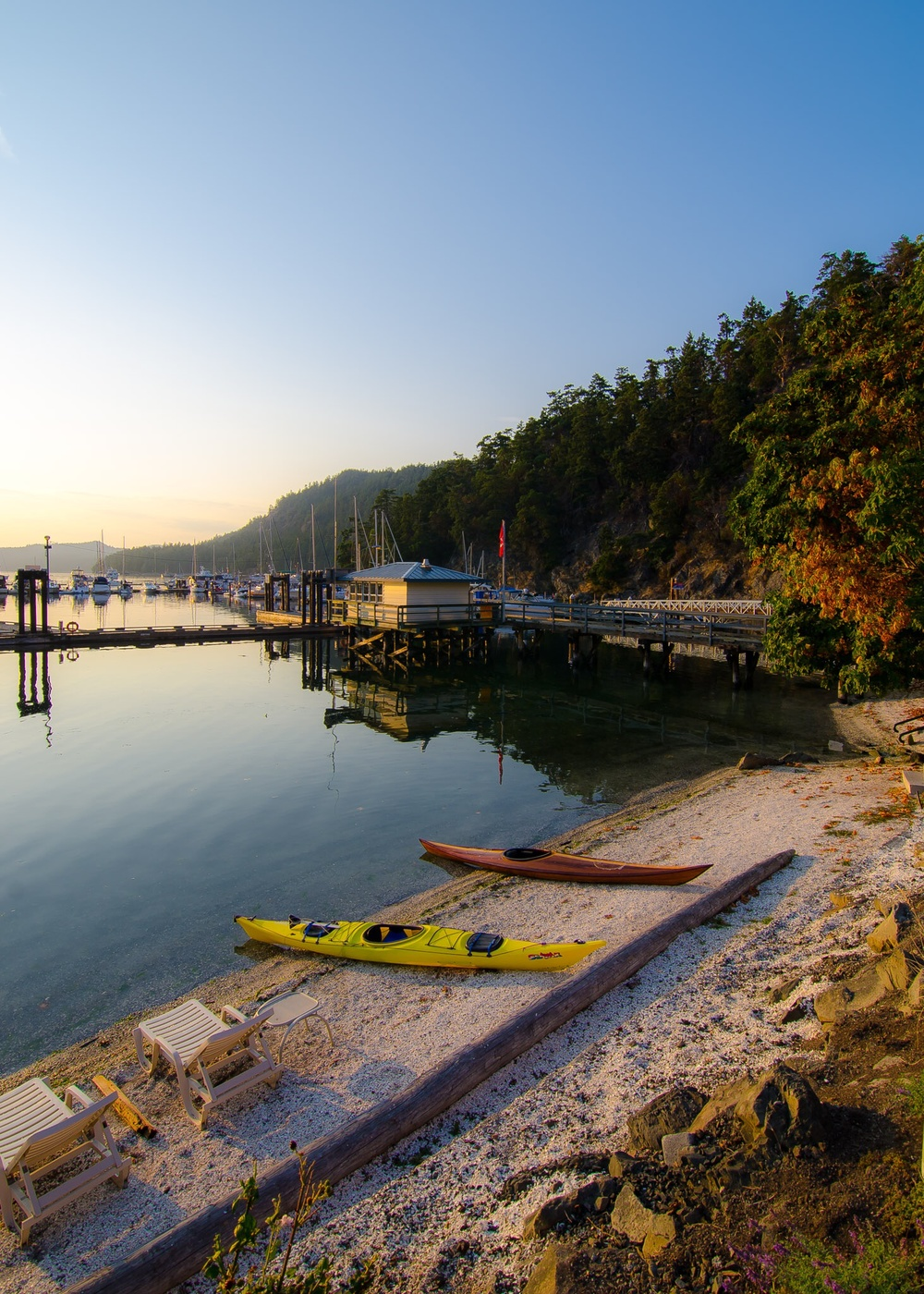 Poet's Cove, Pender Island,  Photo by Brett Hitchins