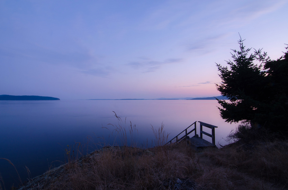 Boundary Pass, Pender Island,  Photo by Brett Hitchins