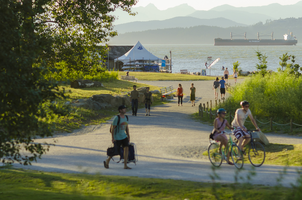 New Multi-Use Trails, Jericho Beach,  Photo by Brett Hitchins