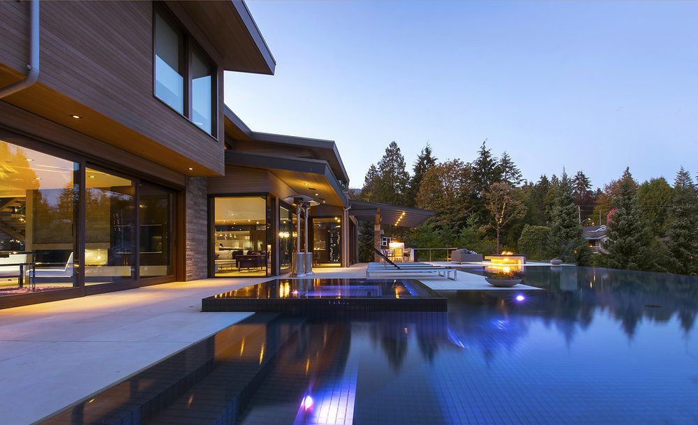 BRS-Coves-End-Paul-Sangha-Landscape-Architecture-Vancouver-Photography-Brett-Ryan-Studios-Residential-Pool-Dusk