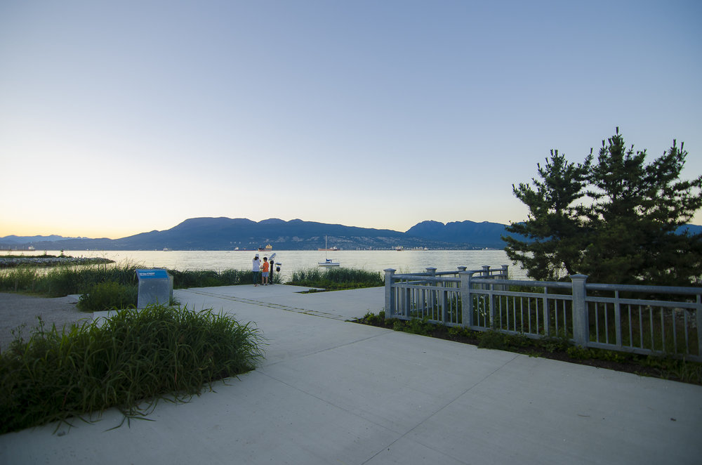 Jericho Beach Park at English Bay