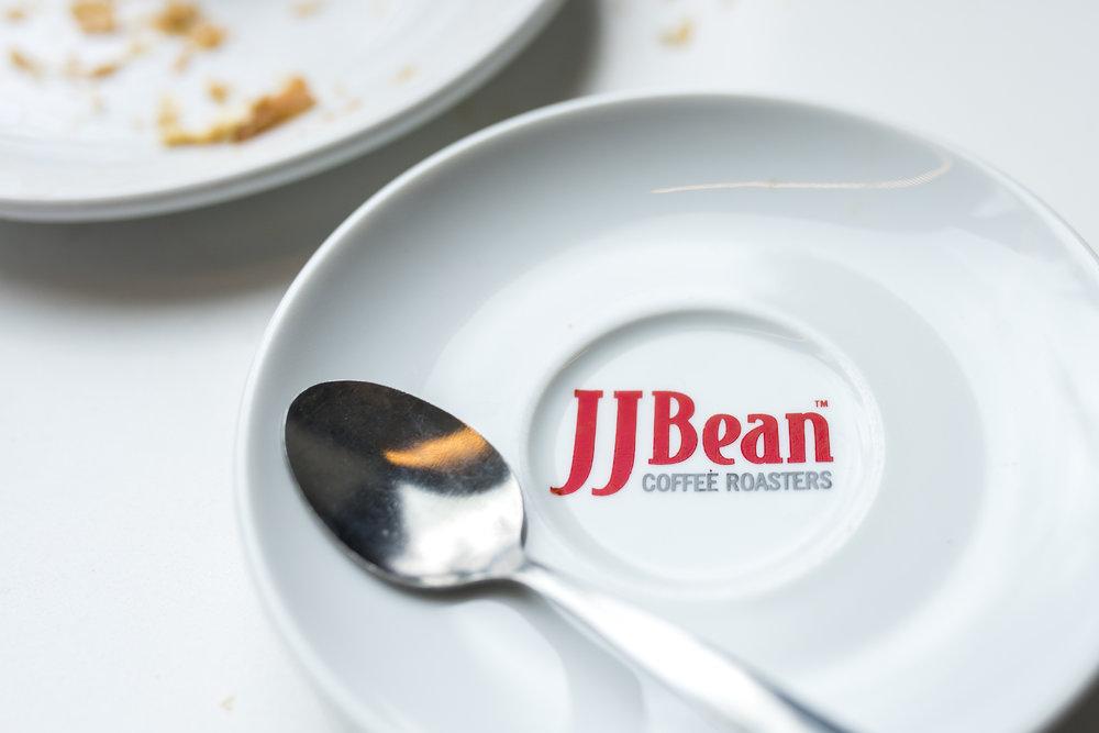 JJ Bean Dunsmuir coffee and food