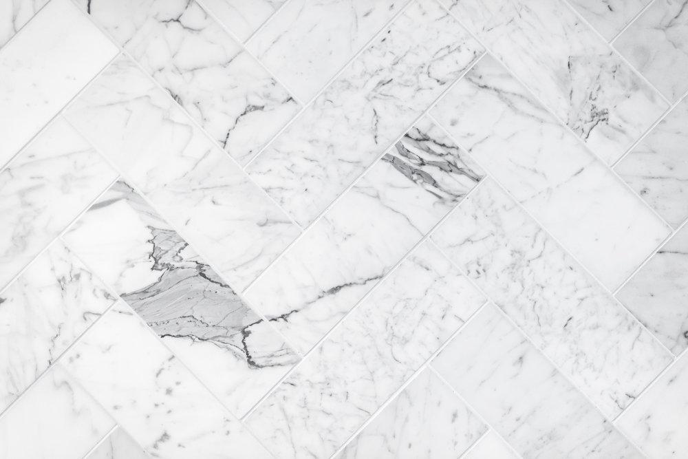 JJ Bean Dunsmuir interior coffee shop marble detail