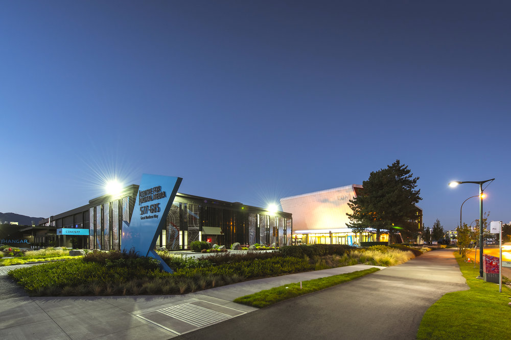Centre for Digital Media at Dusk