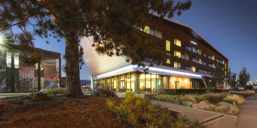 Centre for Digital Media at Dusk