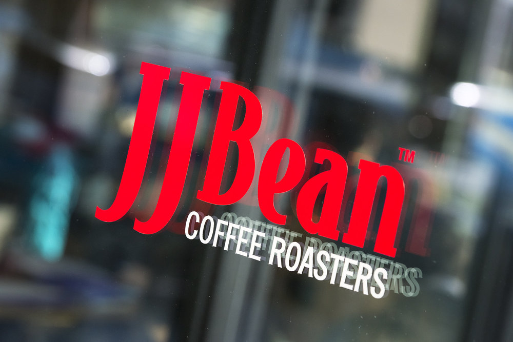 JJ Bean coffee shop Cambie Street coffee roasters Brett Ryan Studios