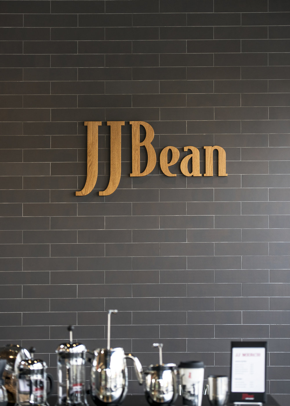 JJ Bean coffee shop Cambie Street signage architecture Dialog Brett Ryan Studios