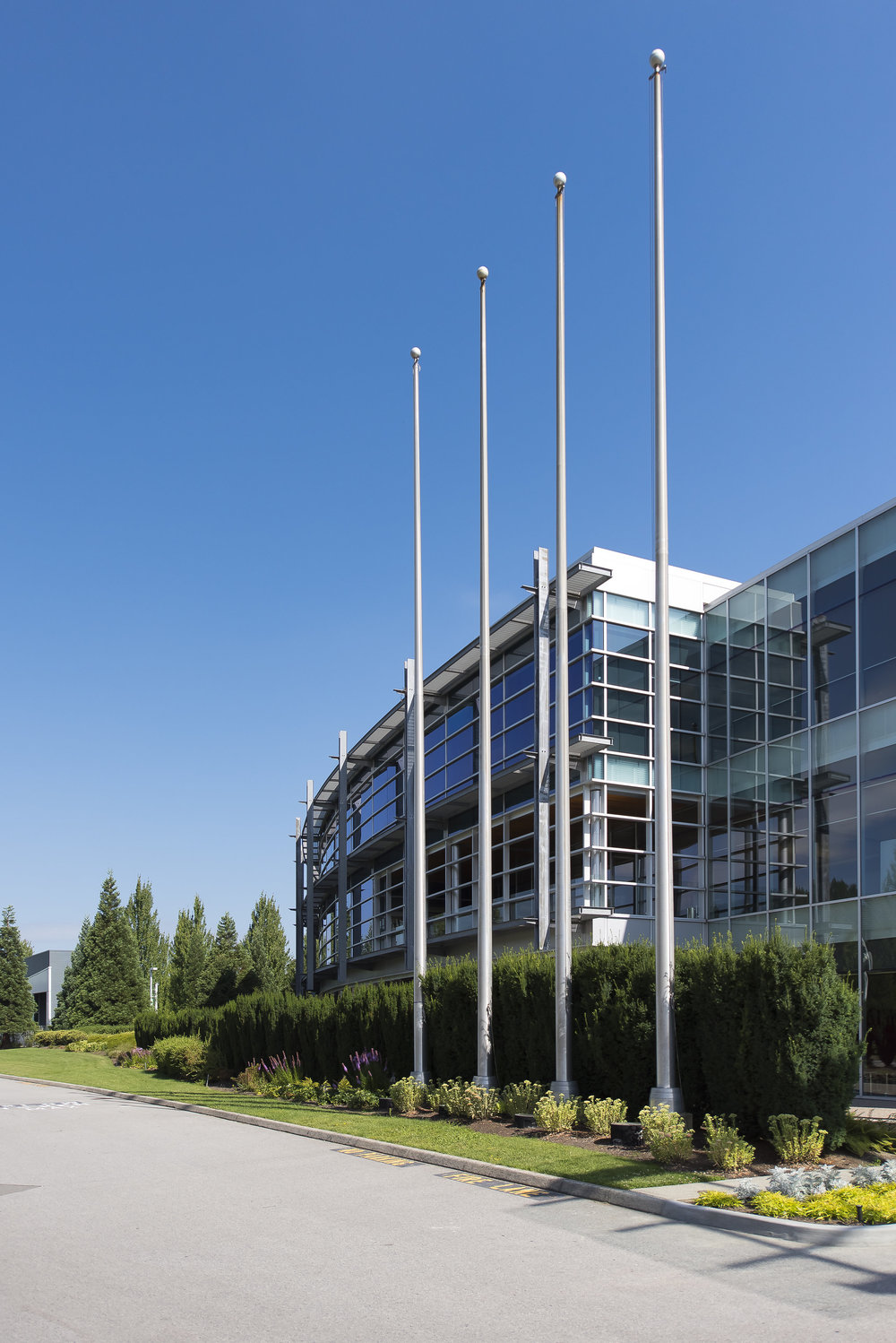 Glenlyon Business Park Vancouver exterior photography
