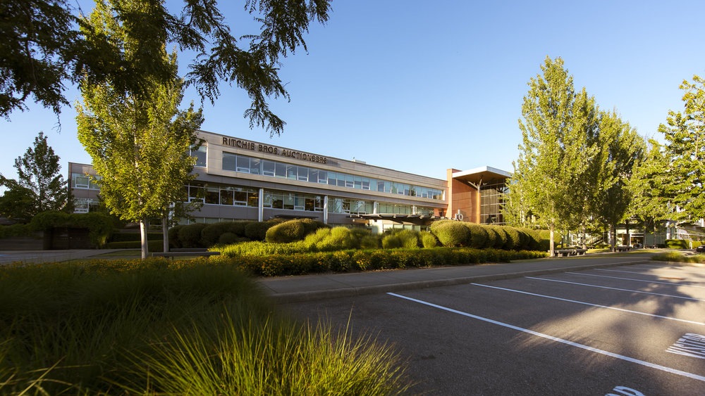 Glenlyon Business Park exterior photography