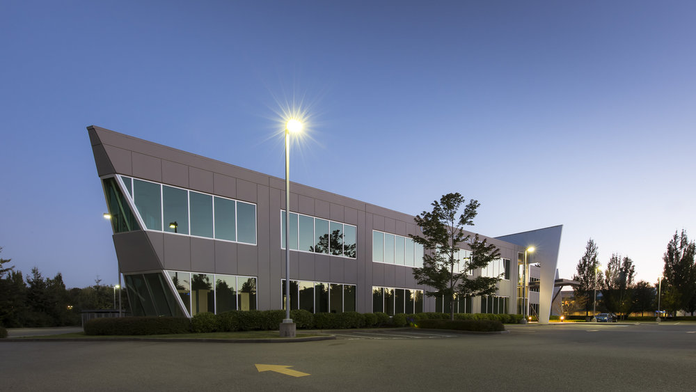 Glenlyon Business Park Vancouver exterior architecture photography