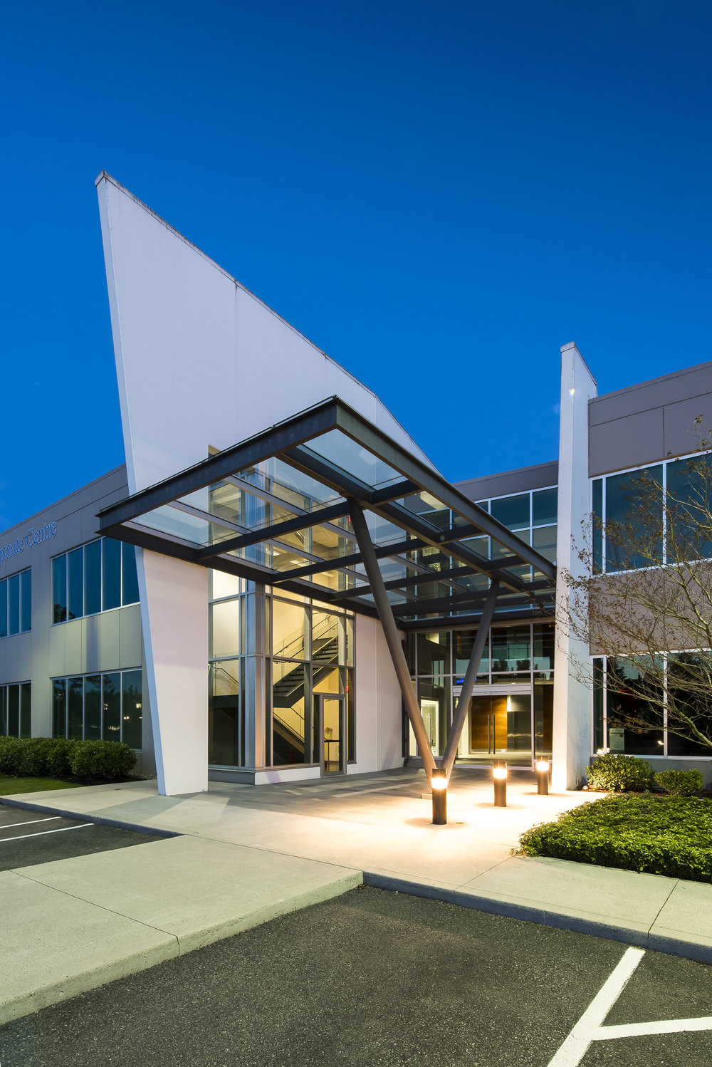 Glenlyon Business Park exterior architecture photography