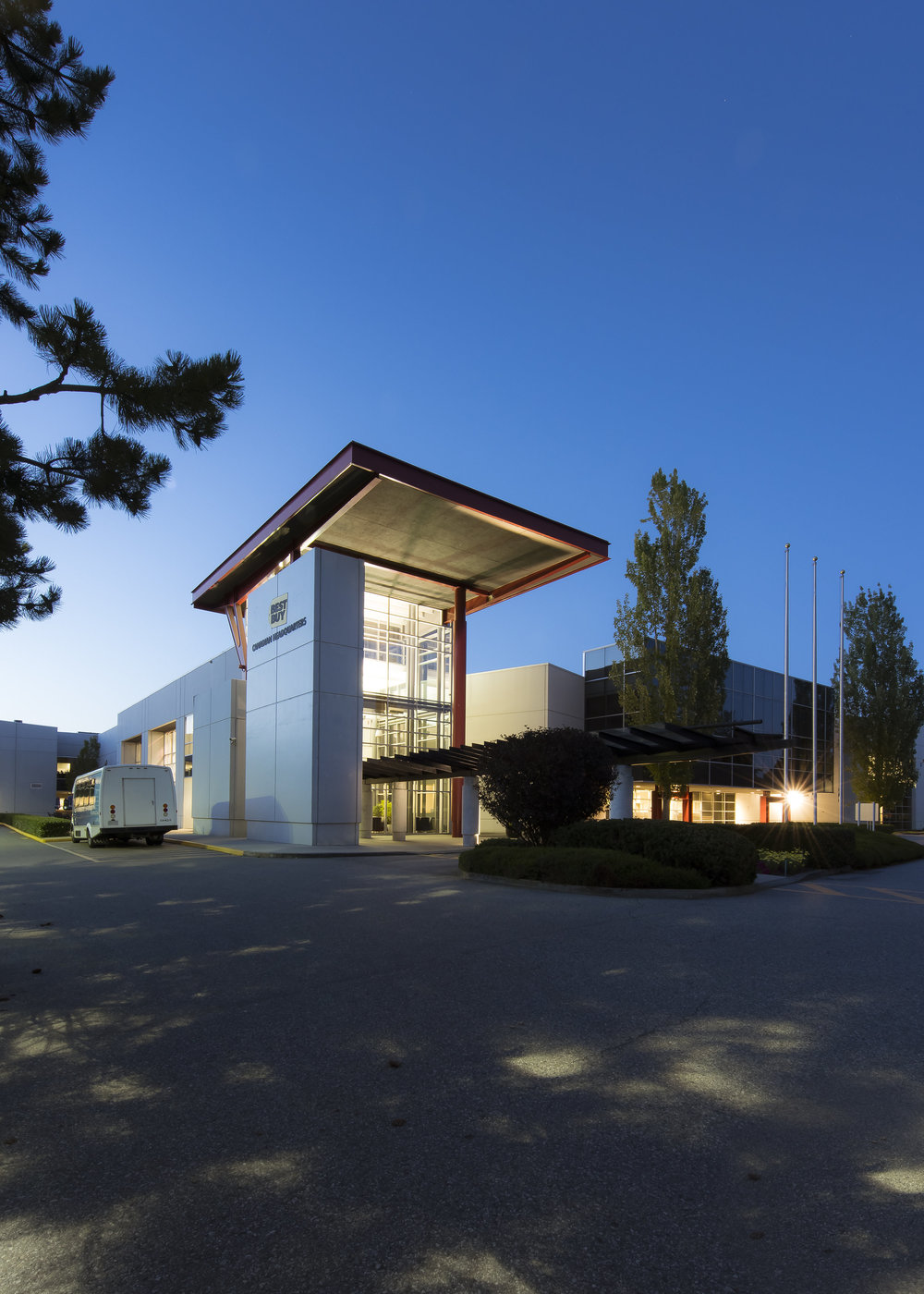 Glenlyon Business Park Vancouver architecture photography landscape by PFS Studio