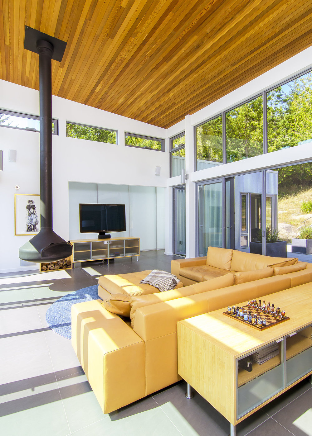 Gulf Island Private Residence architectural home