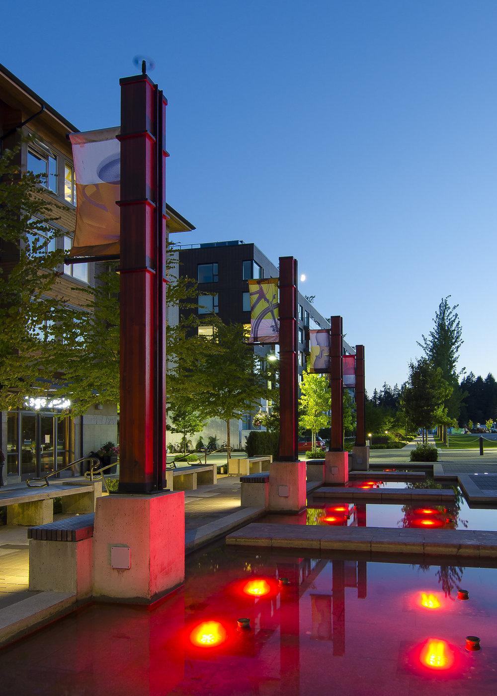UBC Wesbrook Village plaza