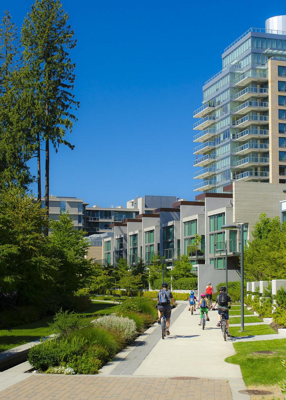 UBC Wesbrook Village Street