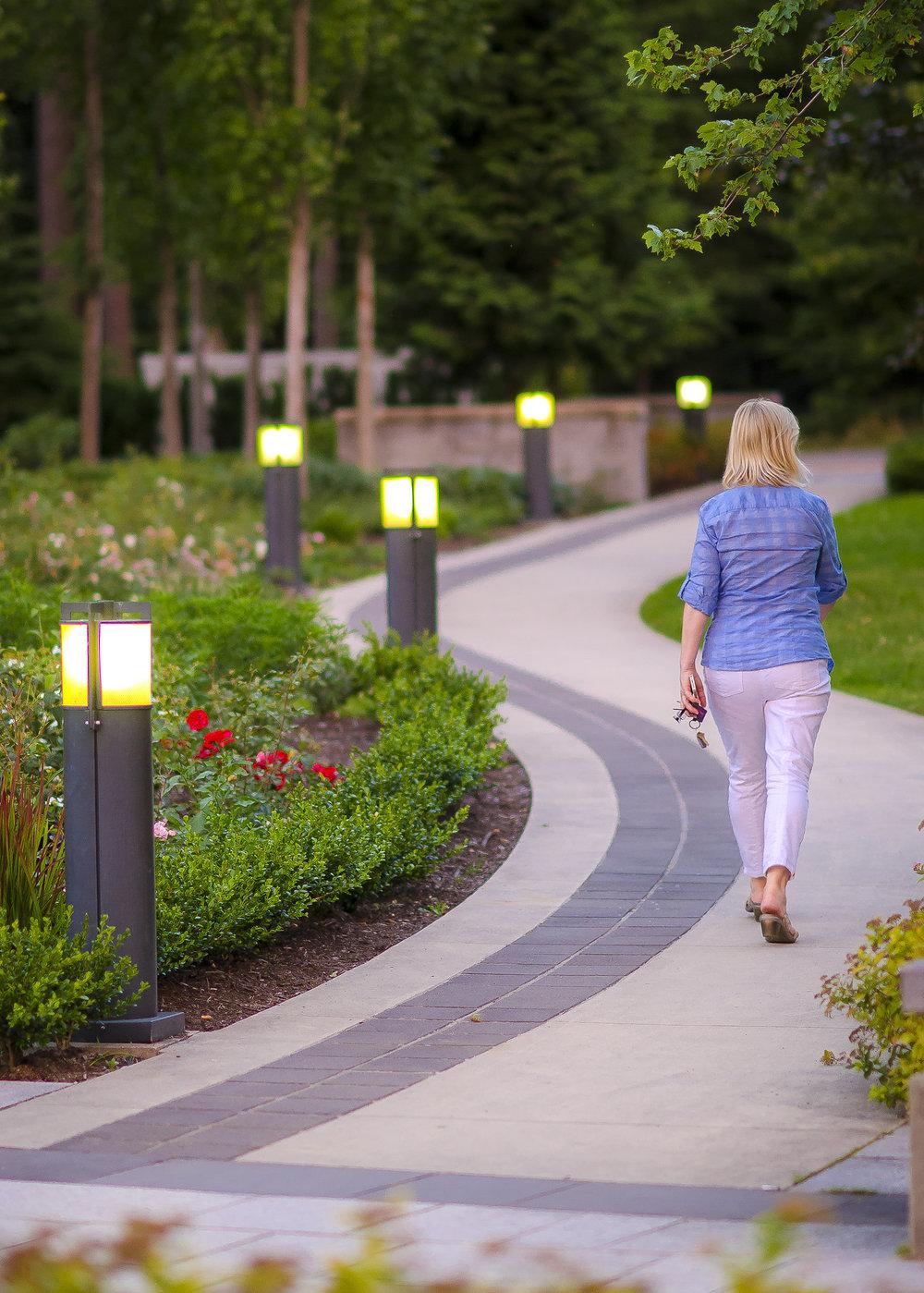UBC Wesbrook Village Khorana Park Path