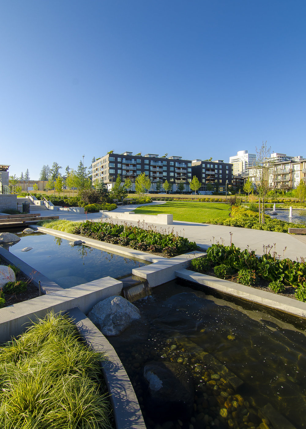 Mundell Park UBC Wesbrook Village Water