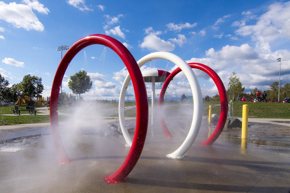 Albion splash park