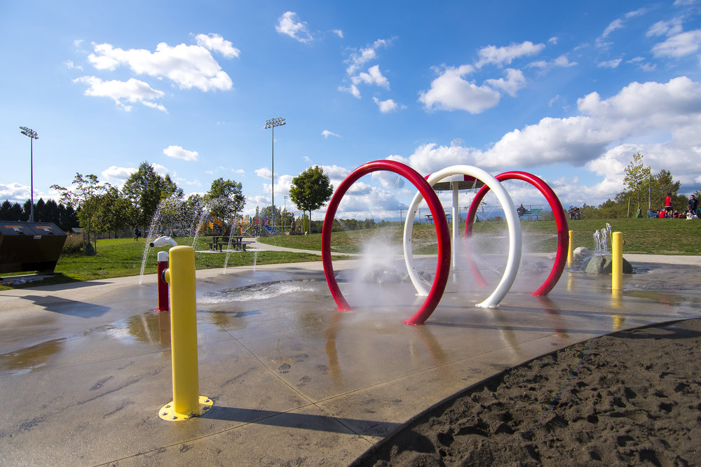 Albion splash park play