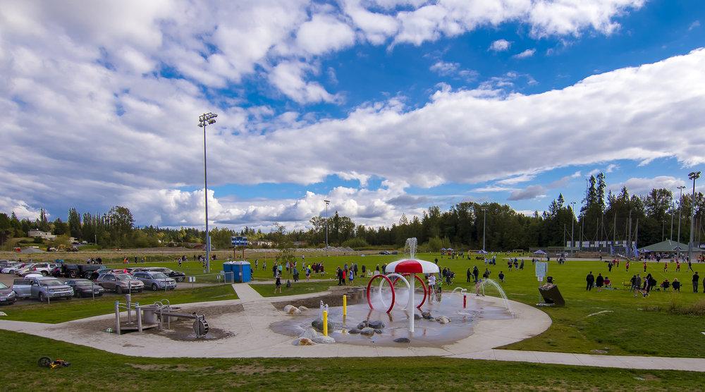 Metro Vancouver splash park water play