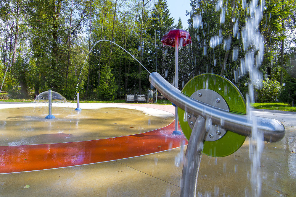 Cameron park splash park water spray guns