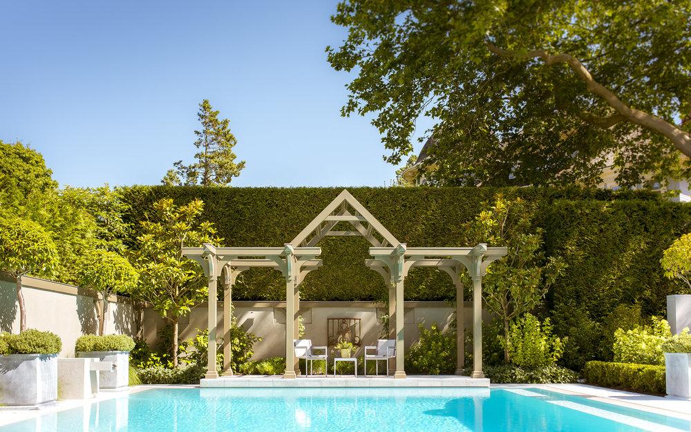 Poolside Gardens Vancouver Home and Garden photography Paul Sangha Brett Ryan Studios