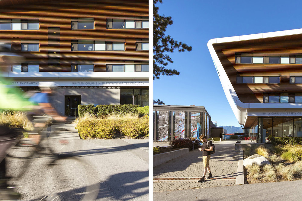 Centre For Digital Media Landscape Architecture by Perry Associates Vancouver