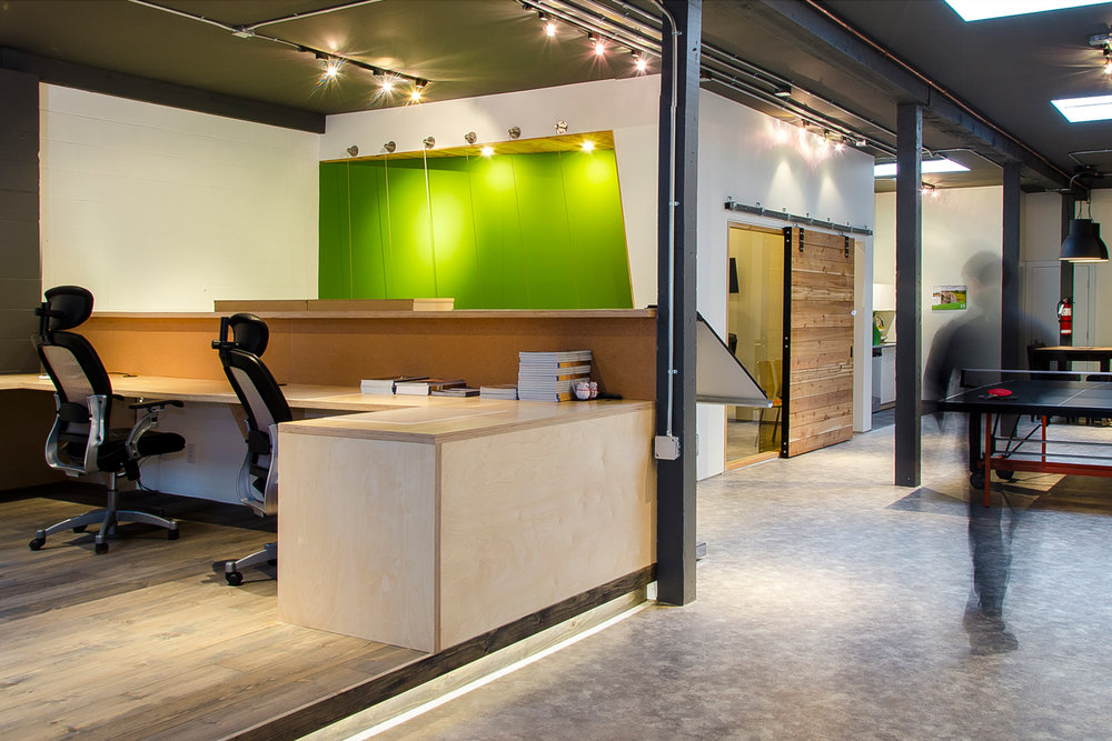 Architek Vancouver office interior design by Karen Wan-Gauthier