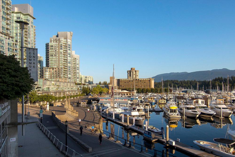 Coal Harbour Vancouver landscape architecture by PFS Studio