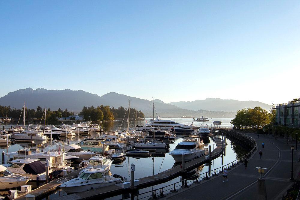 Coal Harbour Vancouver landscape architecture Skyline by PFS Studio