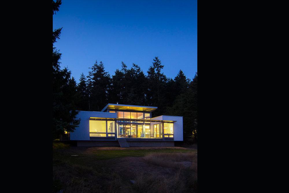 Residential Gulf Island Private architectural home design