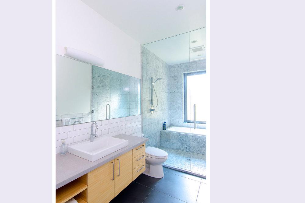 Gulf Island Private Residential bathroom architectural home design
