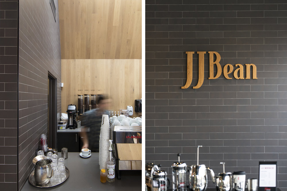 JJ Bean coffee shop Cambie Street interior architectural design by Dialog