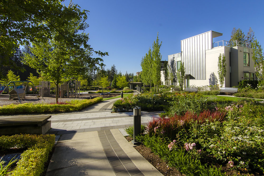 UBC Wesbrook Village Khorana Park by Perry + Associates Landscape Architects
