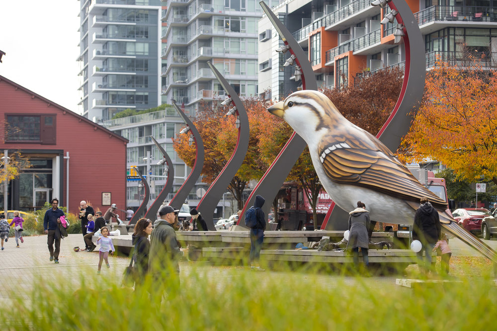 Salt Plaza Vancouver landscape architecture by PFS Studio
