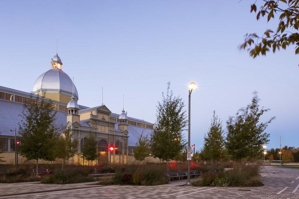 Lansdowne Park Ottawa landscape architecture by PFS Studio