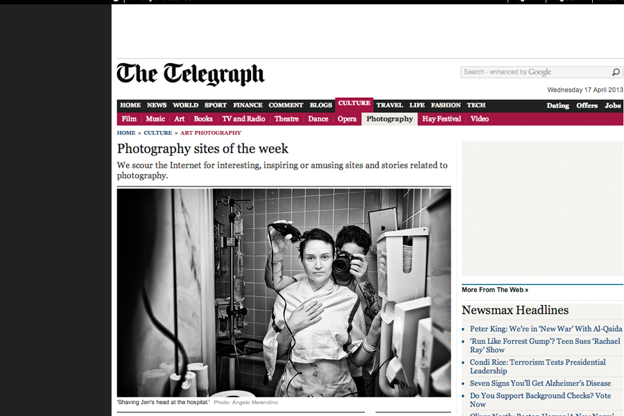 Telegraph Photo Website of the Week