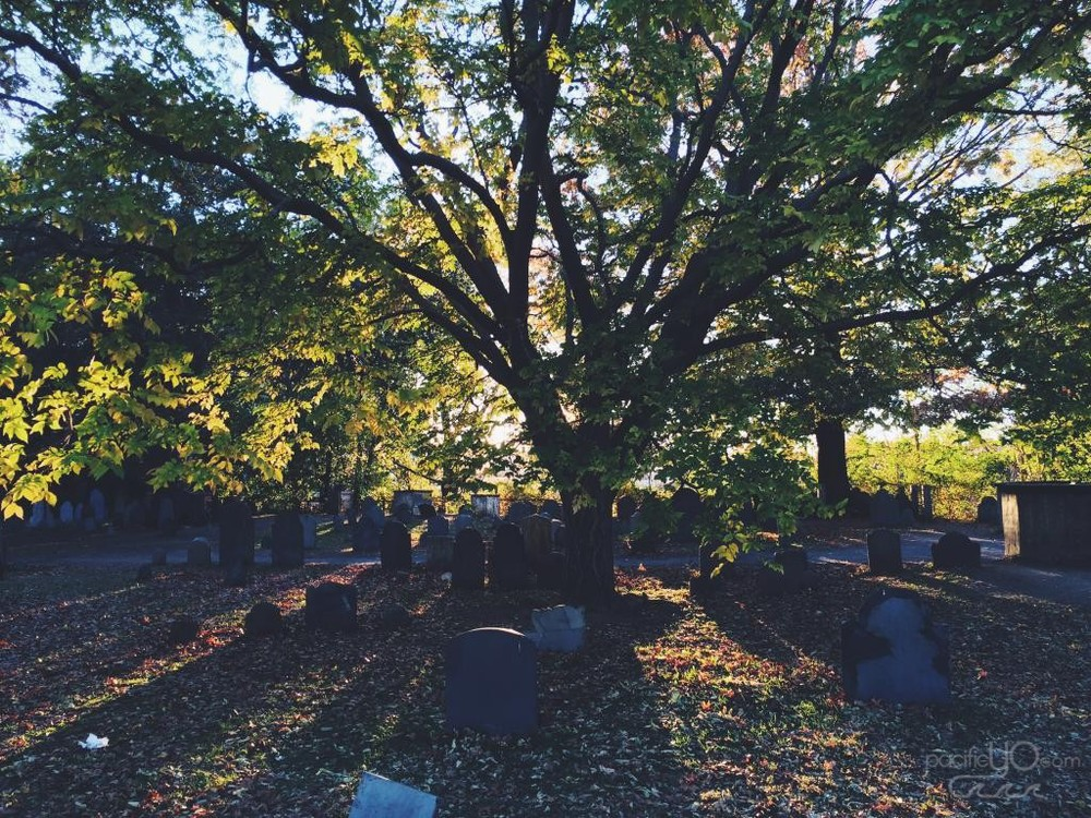 Old Burial Site in Salem, MA