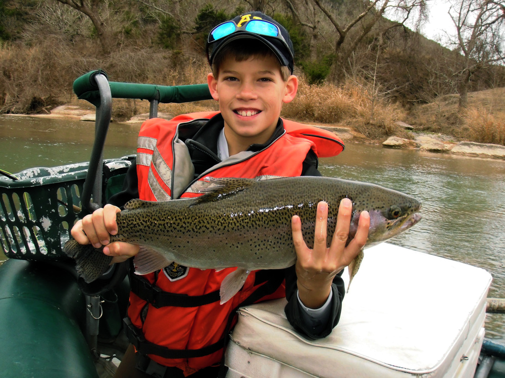 Big Trout on the Guadalupe River