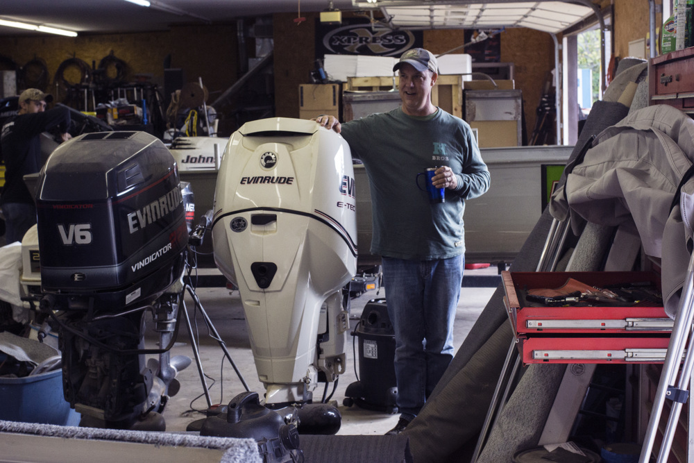 300 HP Outboard Jet!
