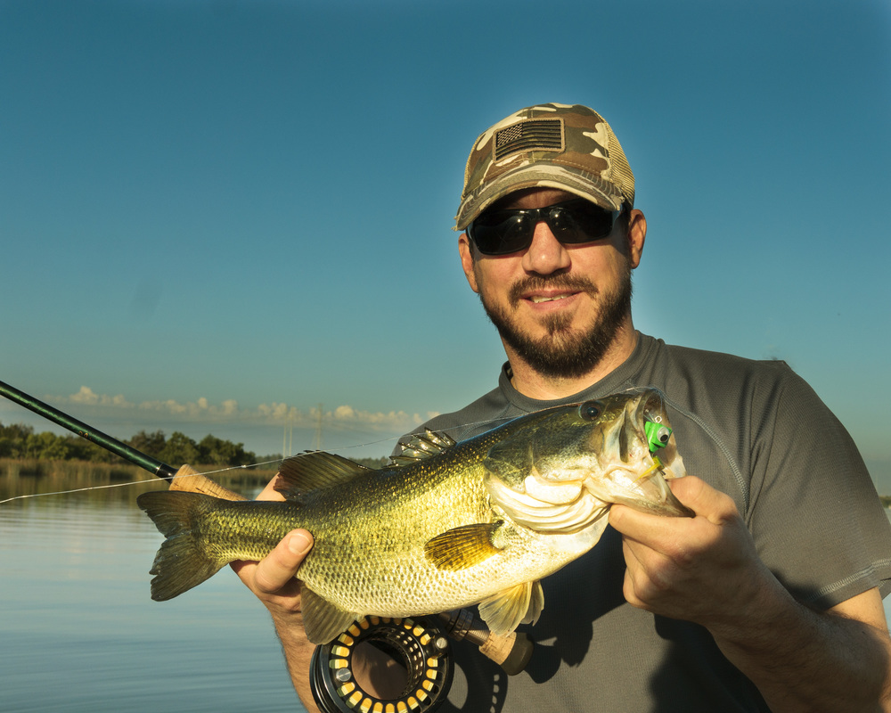 Decker Lake Bass on a Popper