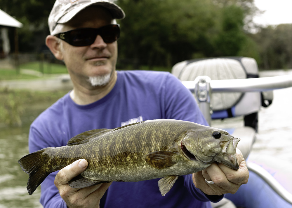 Guadalupe River Smallmouth Bass