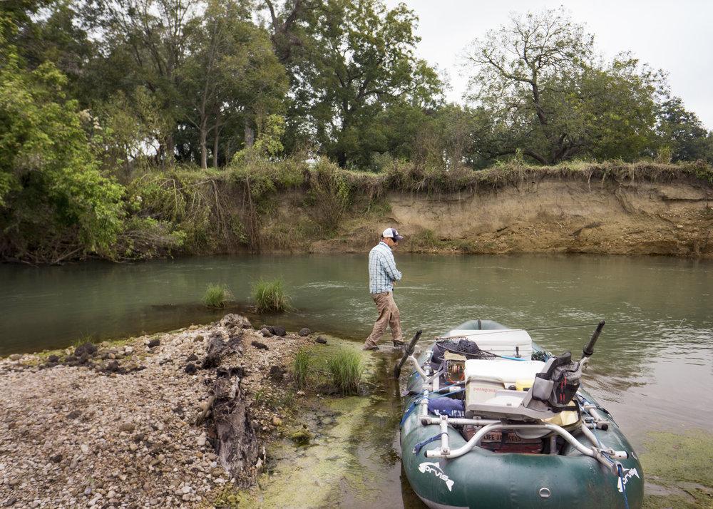San Marcos River Rafting