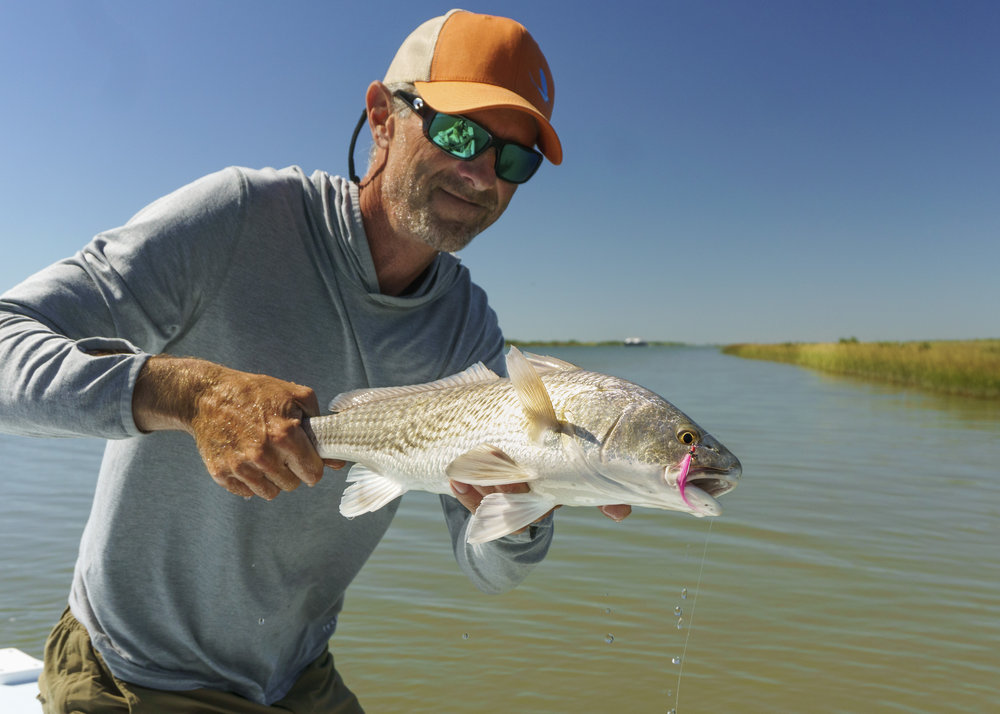 Bob With a Good Looking Redfish