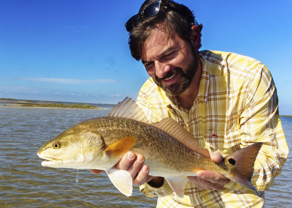 Dave Gets Another Nice Redfish
