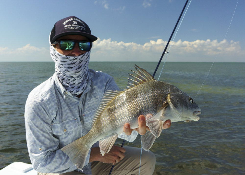 Jake and a Black Drum