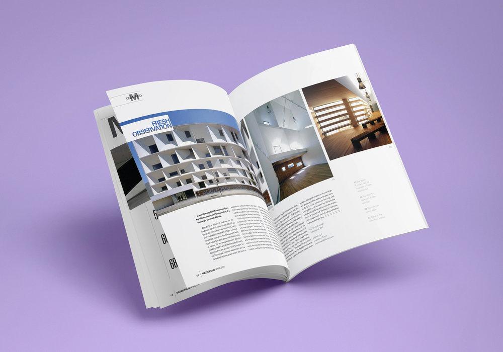 Metropolis Magazine — Derrin K Hawkins Design